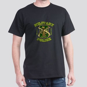US Army Military Police Gold Dark T-Shirt
