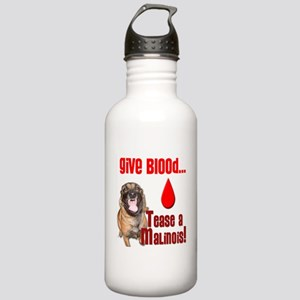 Give Blood, Tease a Ma Stainless Water Bottle 1.0L