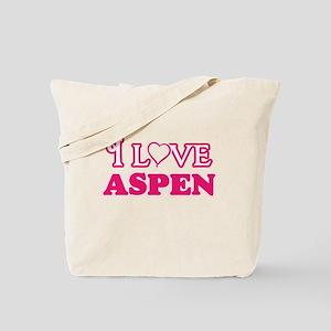 I Love Aspen Tote Bag