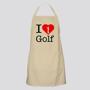 I Love Golf Apron
