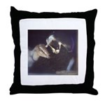 Goats Throw Pillow