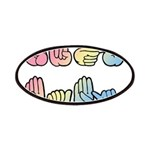 Pastel SIGN BABY SQ Patches