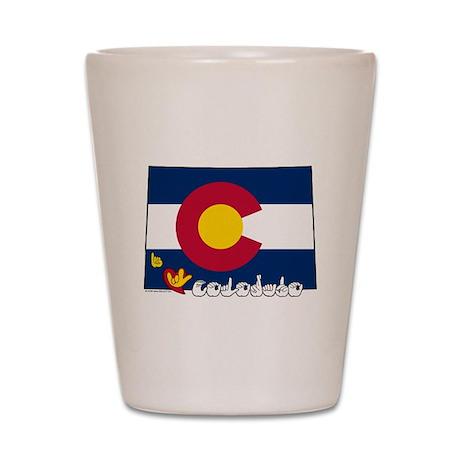 ILY Colorado Shot Glass