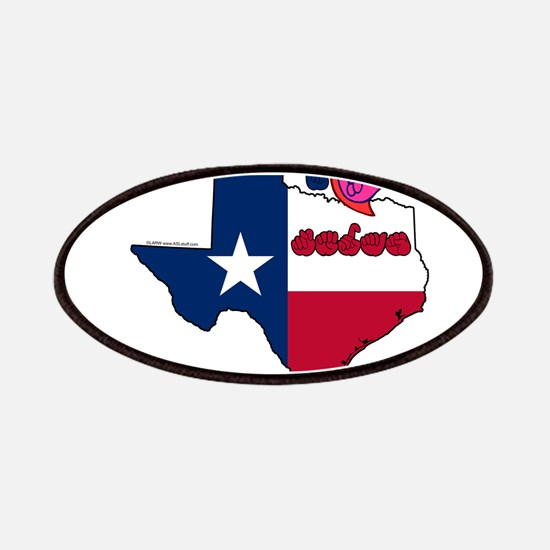 ILY Texas Patches