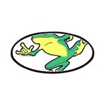 ASL Frog in Flight Patches
