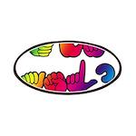 Got ASL? Rainbow SQ CC Patches