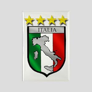 Italia Shield Rectangle Magnet