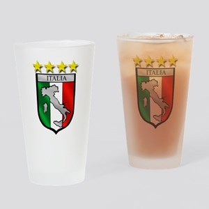 Italia Shield Drinking Glass