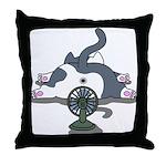 Setsuden cat 2 Throw Pillow