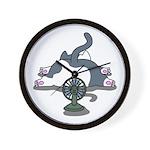 Setsuden cat 2 Wall Clock