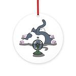 Setsuden cat 2 Ornament (Round)