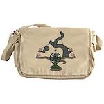 Setsuden cat 2 Messenger Bag
