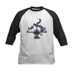 Setsuden cat 2 Kids Baseball Jersey