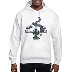 Setsuden cat 2 Hooded Sweatshirt