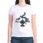 Setsuden cat 2 Jr. Ringer T-Shirt