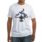 Setsuden cat 2 Fitted T-Shirt