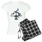 Setsuden cat 2 Women's Light Pajamas