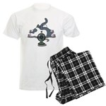 Setsuden cat 2 Men's Light Pajamas