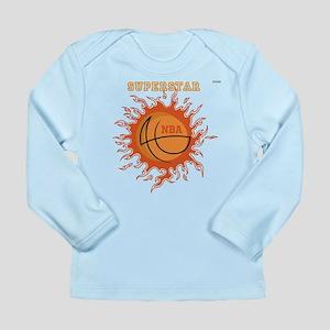 OYOOS Basketball design Long Sleeve Infant T-Shirt
