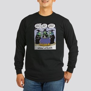 Vegan Witches Long Sleeve Dark T-Shirt