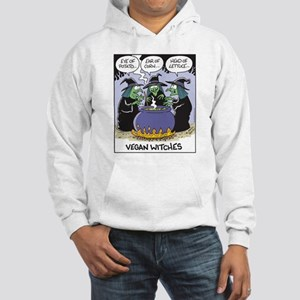 Vegan Witches Hooded Sweatshirt