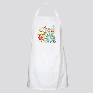 Floral explosion of color Apron