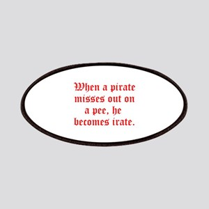 Irate Pirate Patches