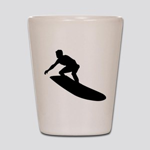 Surfing Shot Glass