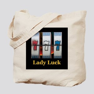 Lady Luck 777 Tote Bag