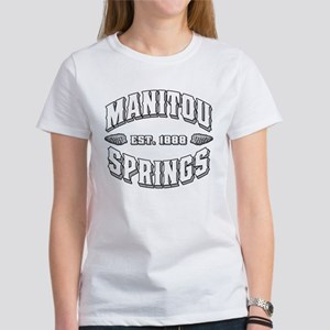 Manitou Springs Old Style White Women's T-Shirt