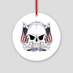 Flight 93 Ornament (Round)