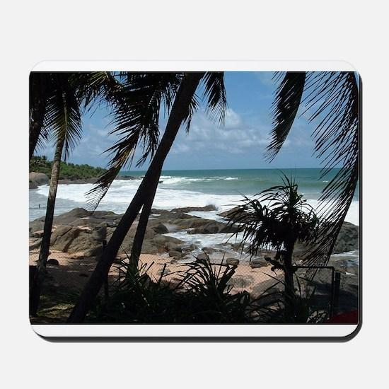 Hidden Beach in Sri Lanka Mousepad
