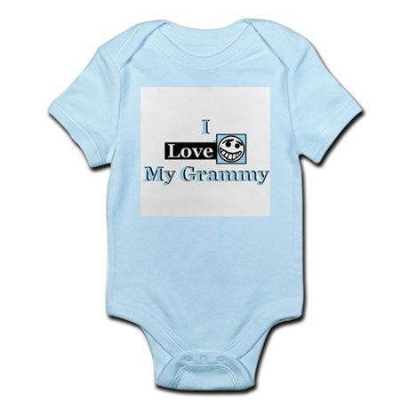 I Love My Grammy Infant Creeper - Blue