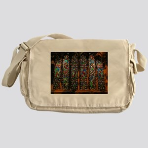Stained Glass Window Christ Messenger Bag