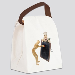 MenuSign120709 copy Canvas Lunch Bag