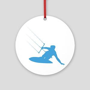 Kitesurfing Ornament (Round)
