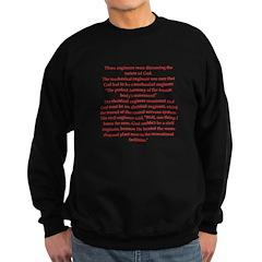 funny science joke Sweatshirt (dark)