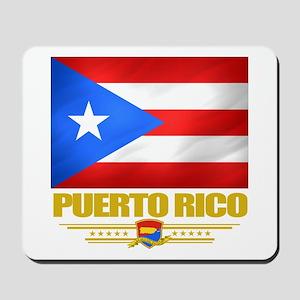 Flag of Puerto Rico Mousepad