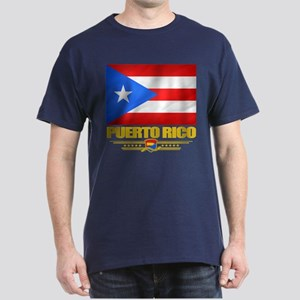 Flag of Puerto Rico Dark T-Shirt