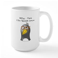 I Speak Linux Large Mug