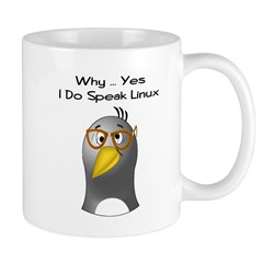 I Speak Linux Mug