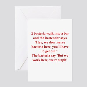funny science joke Greeting Card