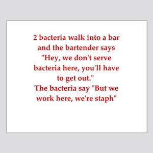 funny science joke Small Poster