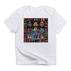 monster face maker Infant T-Shirt