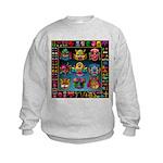 monster face maker Kids Sweatshirt
