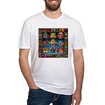 monster face maker Fitted T-Shirt