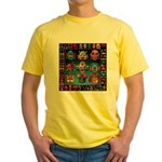 monster face maker Yellow T-Shirt