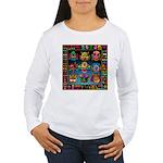 monster face maker Women's Long Sleeve T-Shirt