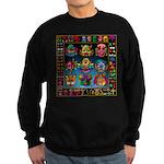 monster face maker Sweatshirt (dark)