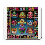 monster face maker Mousepad